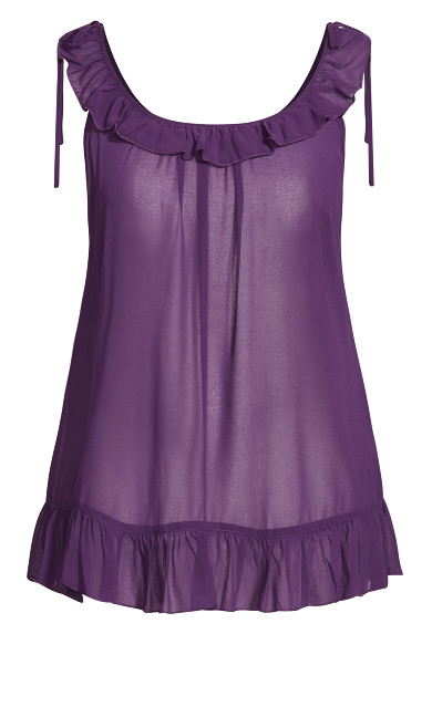 Sinfully Sweet Babydoll - plum