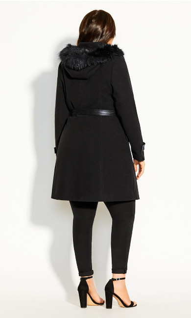 High Living Coat - black