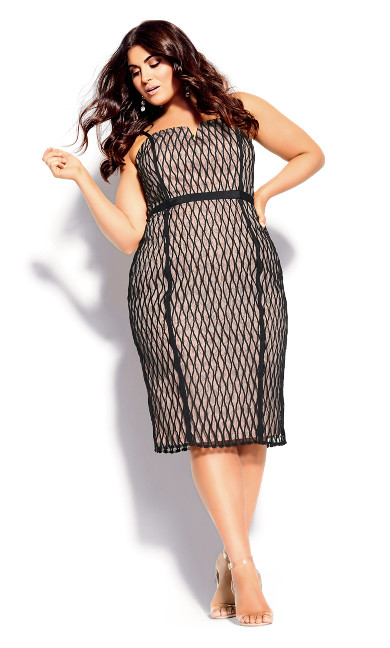 Women's Plus Size Ivanna Dress - black