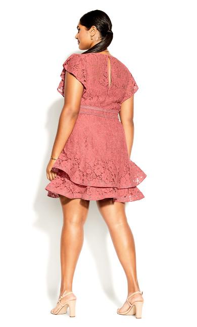 Sienna Dress - deep guava
