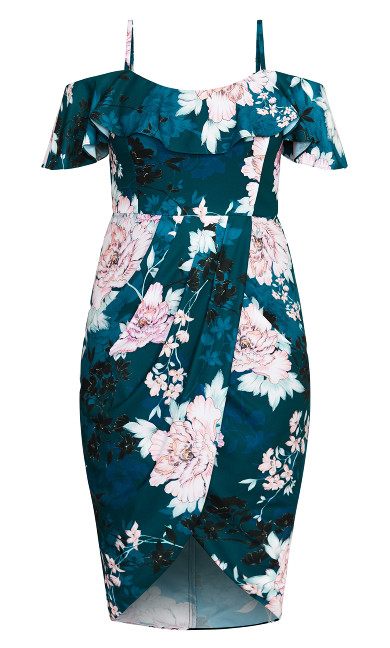 English Blossom Dress - jade