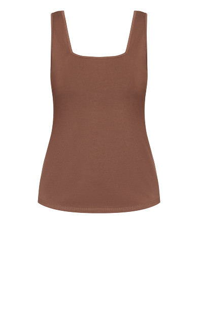 Square Neck Cami - dusk