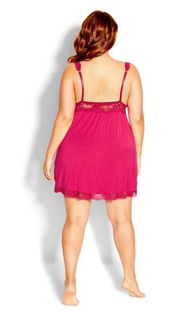 Lara Chemise - raspberry
