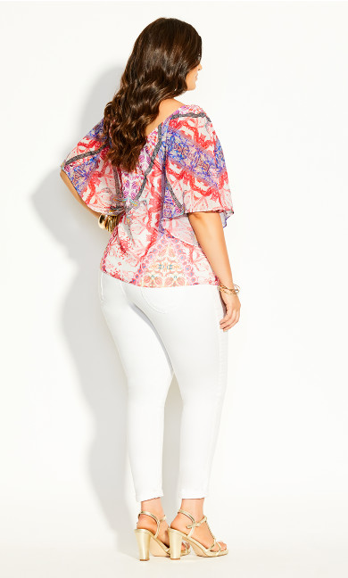 Gingely Top - ivory