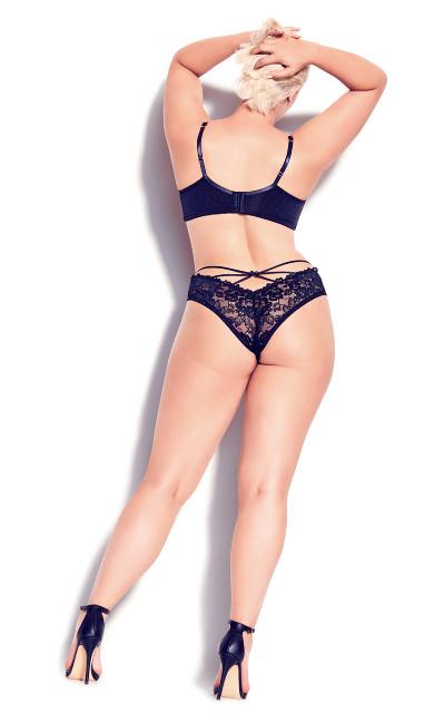 Olivia Strappy Panty - black