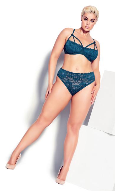 Olivia Strappy Panty - poseidon