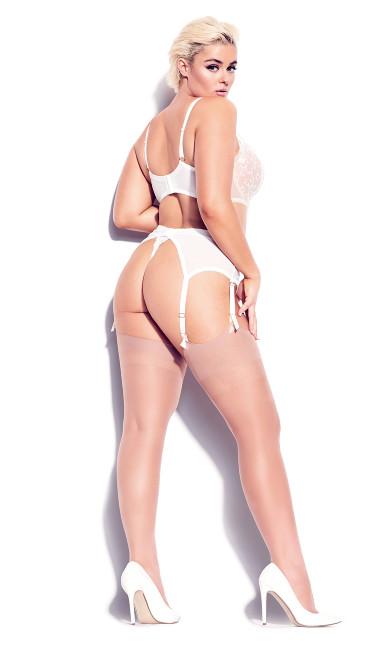 Tatiana Garter Belt - ivory