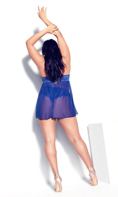 Sophie Strappy Babydoll -blue