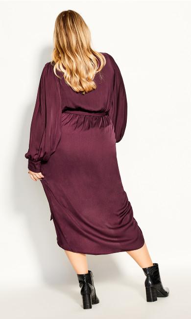 Opulent Dress - plum