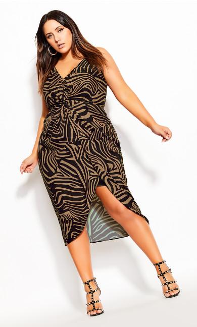 Plus Size Tigress Dress - tigress