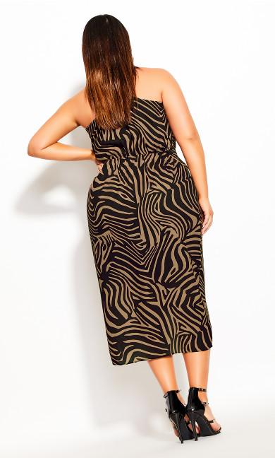 Tigress Dress - caramel