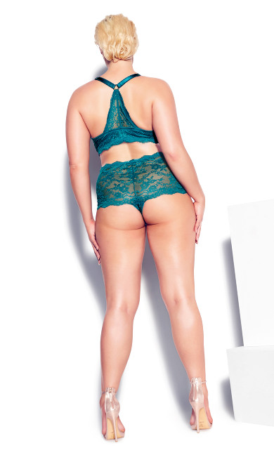 Emma Push Up Bra - teal