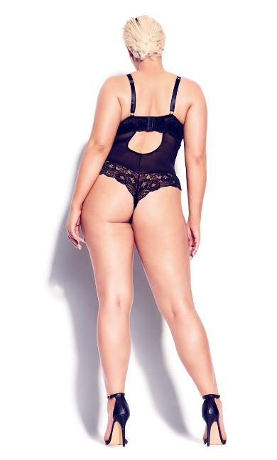Kiki Mesh Body - black
