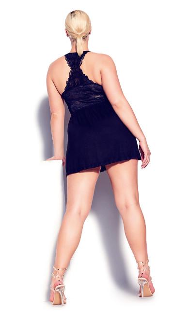 Kira Chemise - black