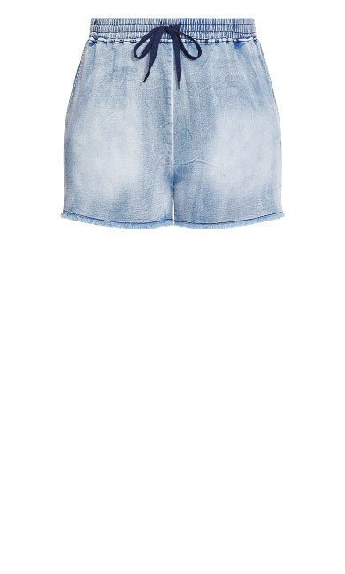 Soft Denim Short - denim
