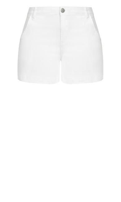 Denim Breeze Short - white