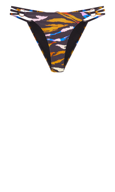 Amara Animal Bikini Pant - animal print