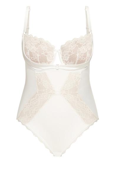 Alina Bodysuit - linen