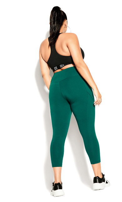 Active 7/8 Legging - sea green
