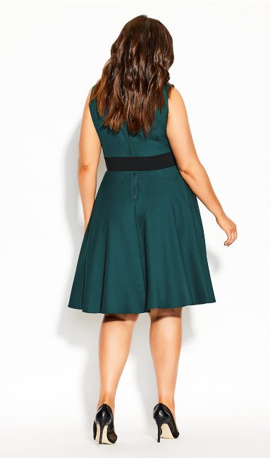 Vintage Veronica Dress - sea green