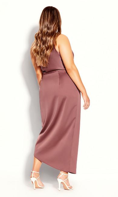 Sensual Dress - woodrose