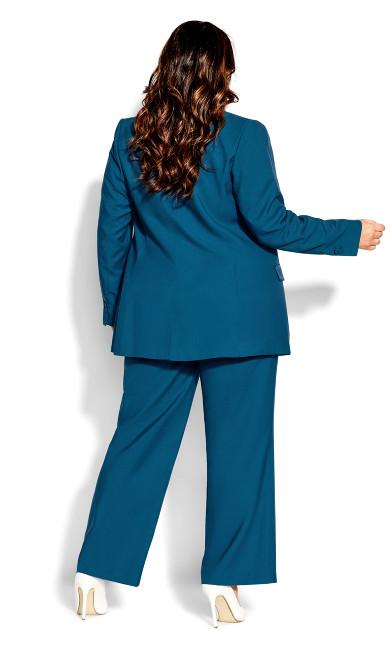 Essence Longline Jacket - blue