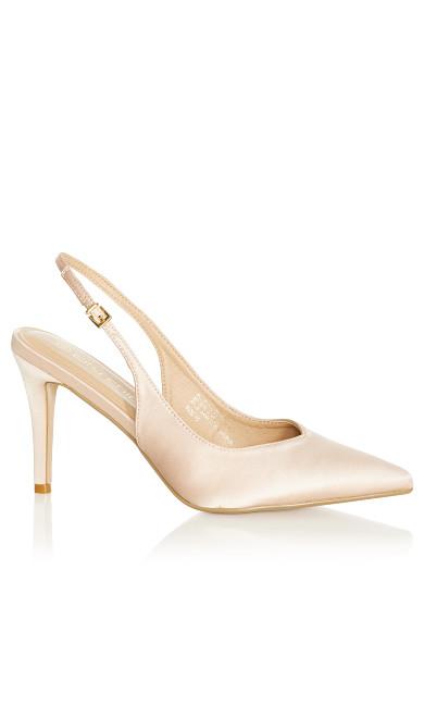 Jemma Sling Back Heel - champagne