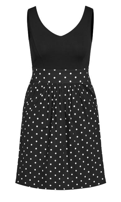 Simply Sweet Dress - black