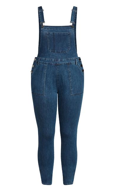 Overall Skinny Jean - indigo