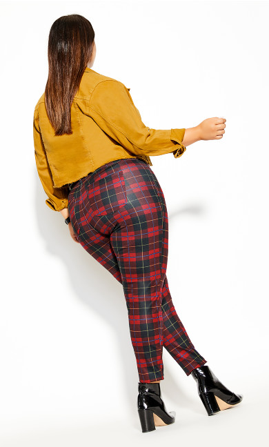 London Pant - red