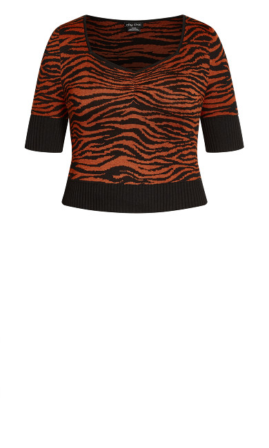 Wild At Heart Jumper - ochre