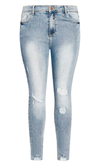 Asha Escape Skinny Jean - denim