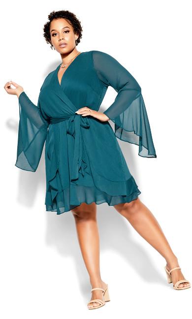 Sweet N Easy Dress - teal