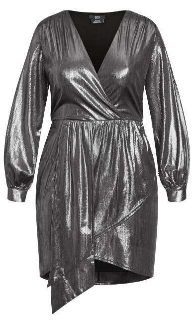 Ambiguous Dress - gunmetal