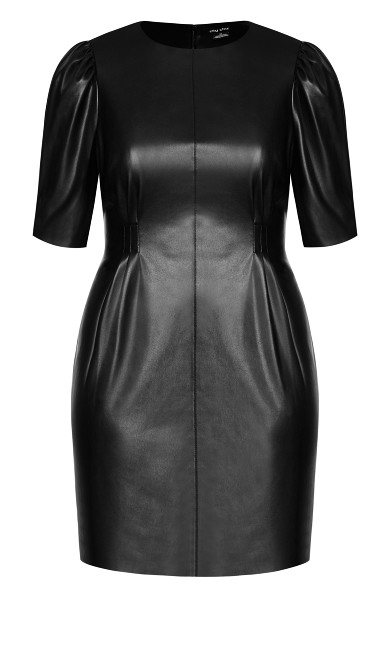 Royale Luxe Dress - black