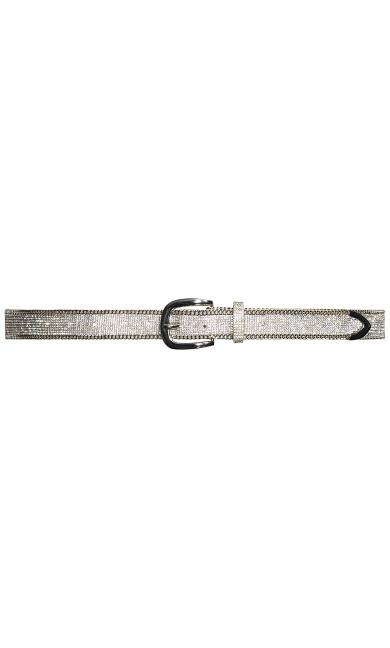 Dazzled Belt - silver