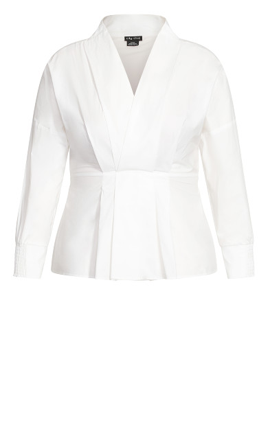 Sophisticated Shirt - ivory