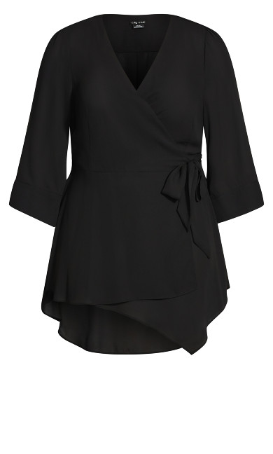Shibara Vibes Top - black