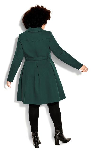 Blushing Belle Coat - jade