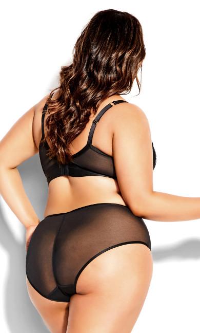 Alexis Longline Contour Bra - black