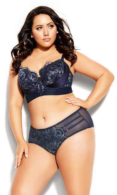 Plus Size Alexis Shorty - midnight