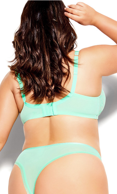 Celinda Push Up Bra - biscay green