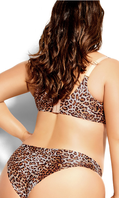 Bodycon Contour Bra - animal