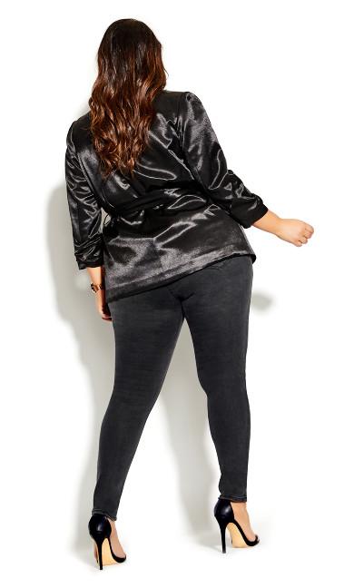 Harley D Ring Skinny Jean - black