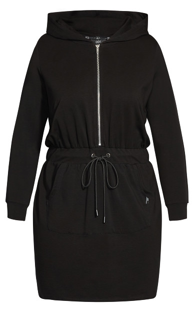 Double Time Dress - black