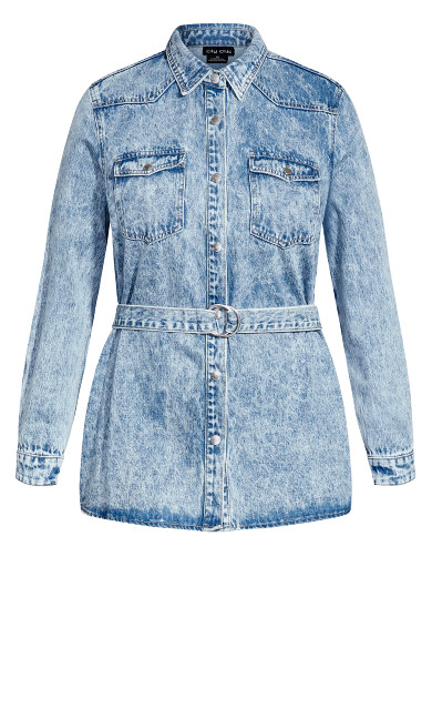 Denim Mode Shirt - mid denim