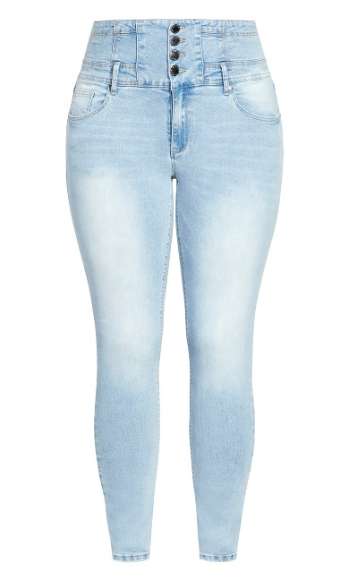 Simply Harley Jean - light wash