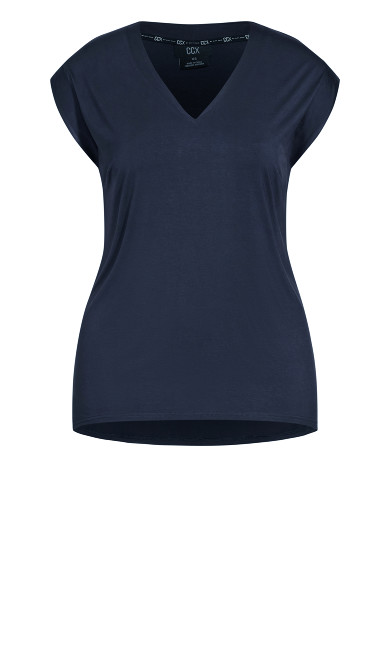 Dynamic V Top - navy
