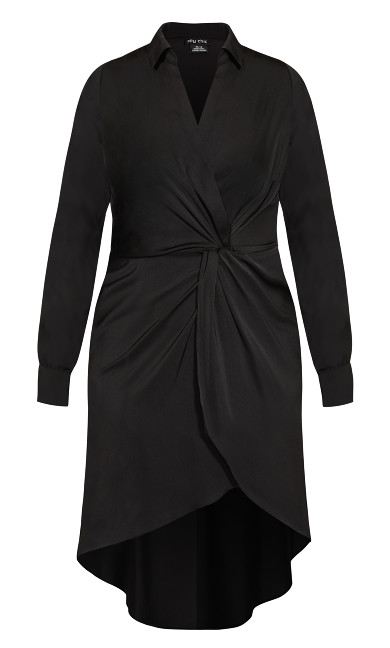 Sexy Sleek Dress - black