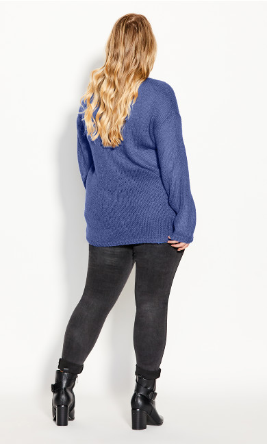 Effortless Jumper - blue